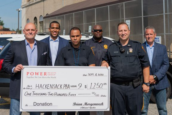 Hackensack PBA Local 9 And Power Realty Group Making A Difference